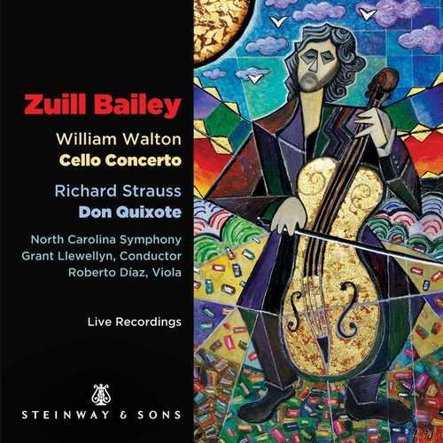 Bailey, Llewellyn: Walton - Cello Concerto, Strauss - Don Quixote (24/96 FLAC)
