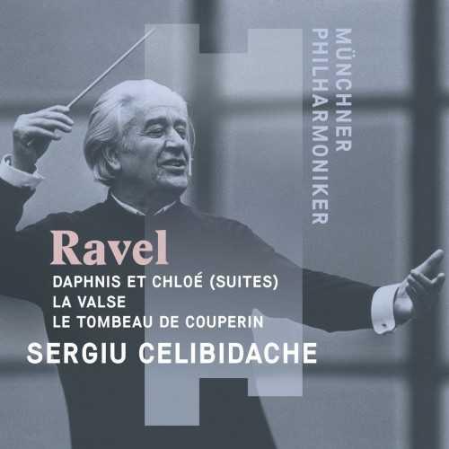 Celibidache: Ravel - Daphnis et Chloé, La Valse, Le Tombeau de Couperin (24/96 FLAC)