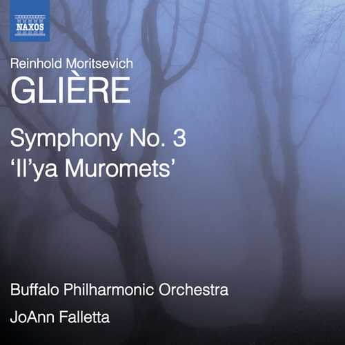 """Falletta: Gliere - Symphony no.3 """"Il'ya Muromets"""" (24/96 FLAC)"""