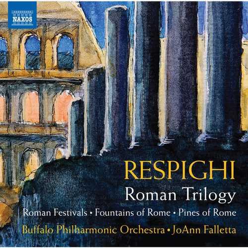 Falletta: Respighi - Roman Trilogy (24/96 FLAC)
