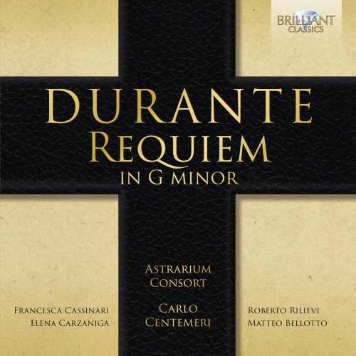 Astrarium Consort: Durante - Requiem in G minor (24/96 FLAC)