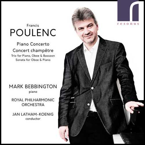 Bebbington: Poulenc - Piano Concerto, Concert champetre (24/96 FLAC)