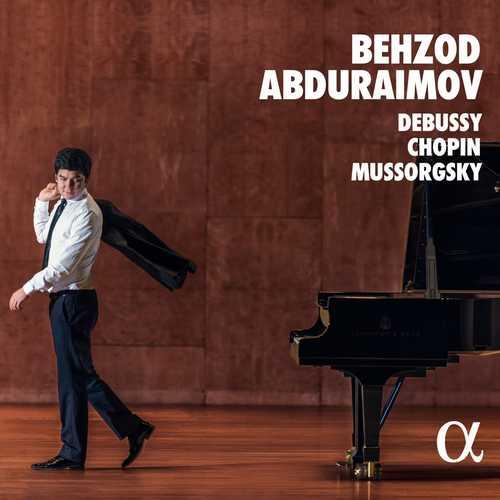 Behzod Abduraimov: Debussy, Chopin, Mussorgsky (24/192 FLAC)