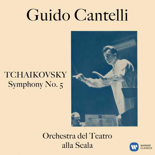 Cantelli: Tchaikovsky - Symphony no.5 op.64 (24/192 FLAC)