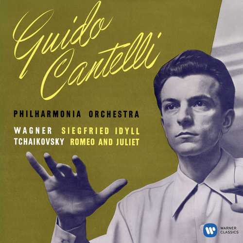 Cantelli: Wagner - Siegfried-Idyll, Tchaikovsky - Romeo and Juliet. Remastered (24/192 FLAC)