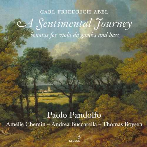 Carl Friedrich Abel - A Sentimental Journey (24/88 FLAC)