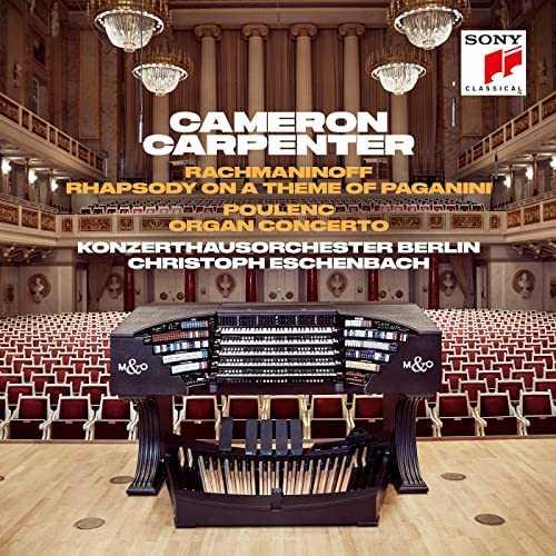 Carpenter: Rachmaninov - Rhapsody on a Theme of Paganini, Poulenc - Organ Concerto (24/44 FLAC)