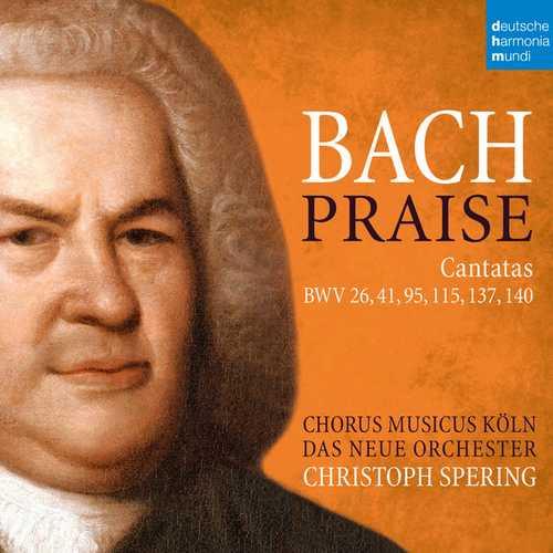 Spering: Bach - Praise. Cantatas BWV 26, 41, 95, 115, 137, 140 (24/48 FLAC)
