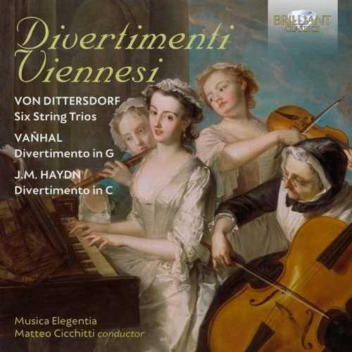 Cicchitti: Dittersdorf, Vaňhal, Haydn - Divertimenti Viennesi (24/96 FLAC)