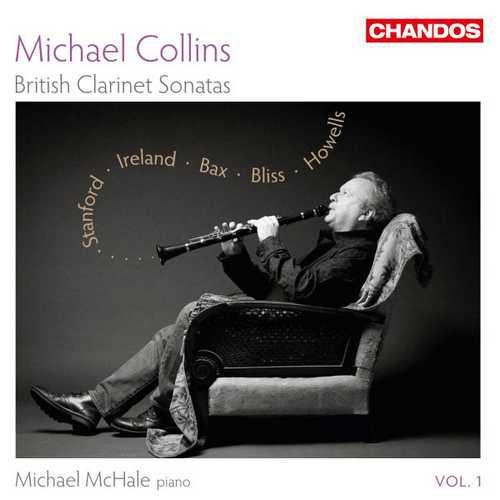 Michael Collins - British Clarinet Sonatas vol.1 (24/96 FLAC)
