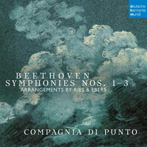 Compagnia di Punto: Beethoven - Symphonies no.1-3. Arrangements by Ries & Ebers (24/48 FLAC)