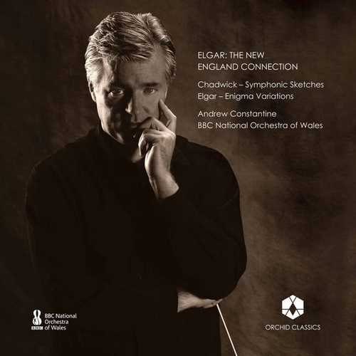 Constantine: Elgar - The New England Connection (24/96 FLAC)