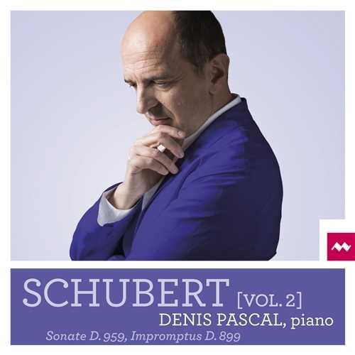 Denis Pascal: Schubert - Piano Sonatas vol.2 (24/96 FLAC)