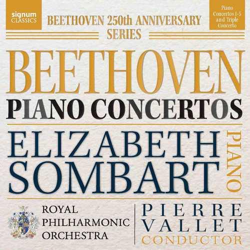 Sombart, Vallet: Beethoven - Piano Concertos (24/96 FLAC)