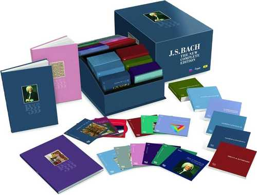 Bach 333 (222 CD box set, FLAC)
