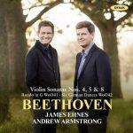 James Ehnes, Andrew Armstrong: Beethoven - Violin Sonatas no.4, 5, 8 (24/44 FLAC)