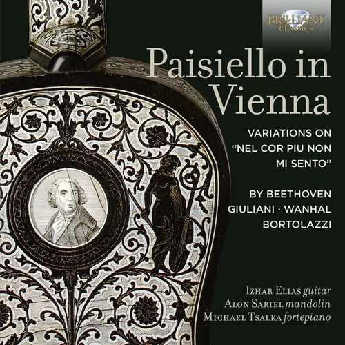 Elias, Sariel, Tsalka - Paisiello in Vienna (24/96 FLAC)