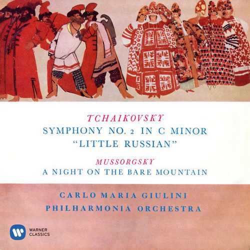 "Giulini: Tchaikovsky - Symphony no.2 ""Little Russian"", Mussorgsky - A Night on the Bare Mountain (24/192 FLAC)"