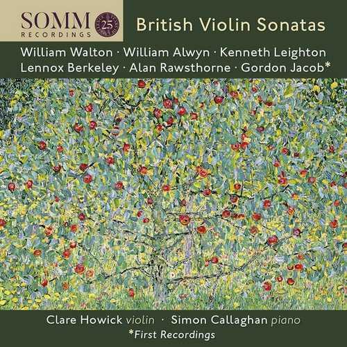 Howick, Callaghan - British Violin Sonatas (24/88 FLAC)