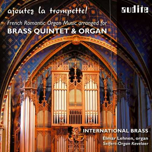 International Brass: Ajoutez la Trompette! French Romantic Organ Music (24/44 FLAC)
