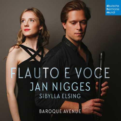 Jan Nigges, Sibylla Elsing - Flauto e Voce (24/48 FLAC)