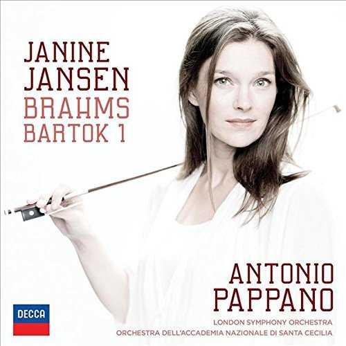 Jansen, Pappano: Brahms, Bartók - Violin Concerto no.1 (24/96 FLAC)