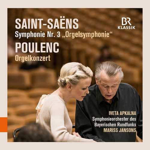 Apkalna, Jansons: Saint-Saëns - Organ Symphony, Poulenc - Organ Concerto (24/48 FLAC)
