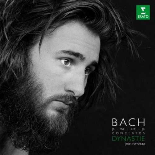 Jean Rondeau: JS, WF, CPE, JC Bach Concertos - Dynastie (24/96 FLAC