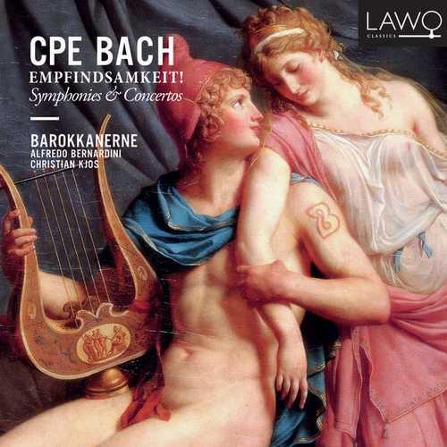 Kjos, Bernardini: C.P.E. Bach - Empfindsamkeit! (24/48 FLAC)