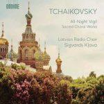 Klava: Tchaikovsky - All-Night Vigil, Sacred Choral Works (24/96 FLAC)