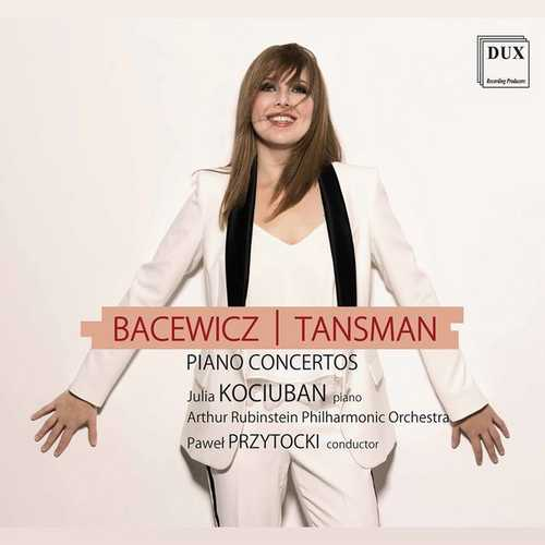 Kociuban, Przytocki: Bacewicz | Tansman - Piano Concertos (24/96 FLAC)
