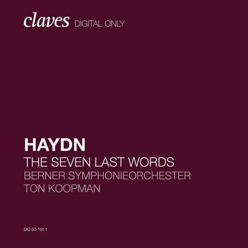 Ton Koopman: Haydn - The Seven Last Words (24/96 FLAC)