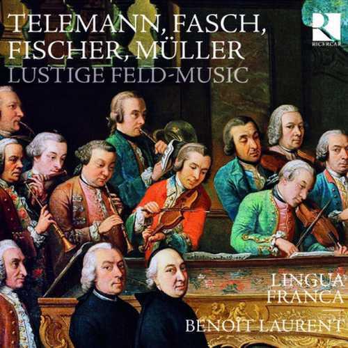 Lingua Franca, Benoît Laurent: Lustige Feld-Music (24/44 FLAC)