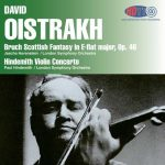 Oistrakh: Bruch - Scottish Fantasy in E-flat major op.46, Hindemith - Violin Concerto (24/96 FLAC)