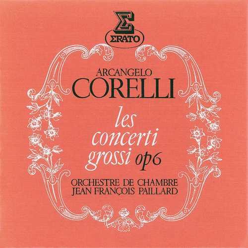 Paillard: Arcangelo Corelli - Les concerti grossi op.6 (24/192 FLAC)