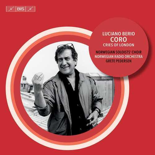 Pedersen: Berio - Coro & Voices of London. Version for 8 Voices (24/96 FLAC)