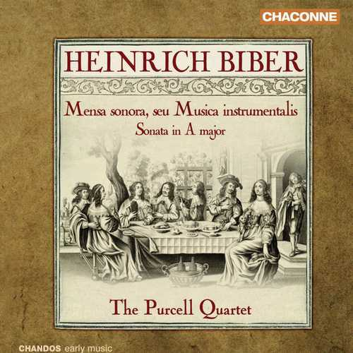 Purcell Quartet: Biber - Mensa sonora, seu Musica instrumentalis (24/96 FLAC)