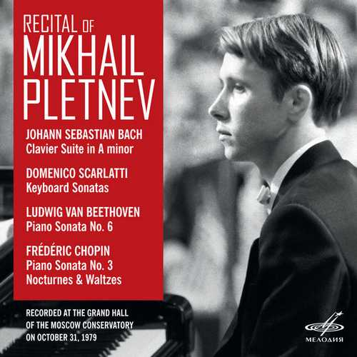 Recital of Mikhail Pletnev. Moscow October 31 1979 (24/88 FLAC)