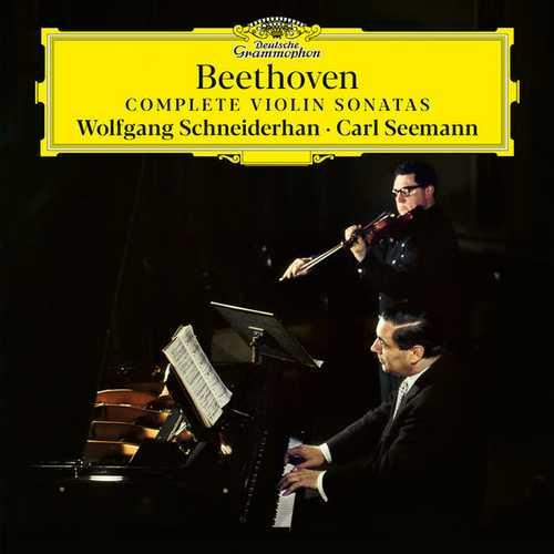 Schneiderhan, Seemann: Beethoven - Complete Violin Sonatas. Remastered (24/192 FLAC)