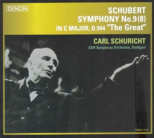 "Schuricht: Schubert - Symphony no.9 in C Major ""The Great"" (SACD)"
