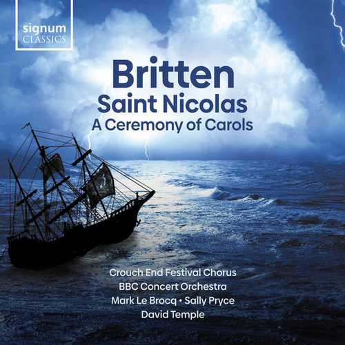 Temple: Britten - Saint Nicolas, A Ceremony of Carols (24/96 FLAC)