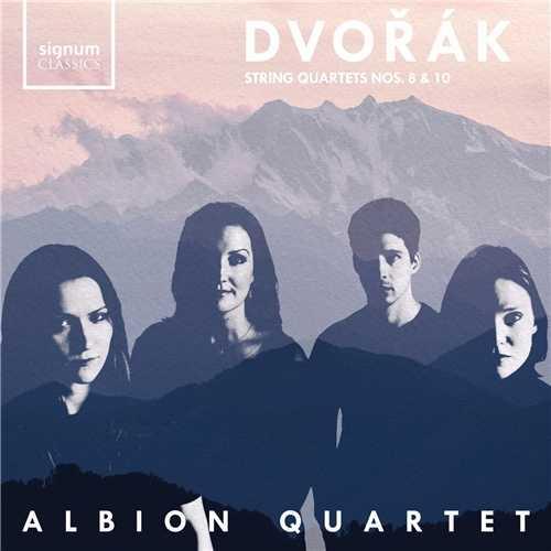 Albion Quartet: Dvořák - String Quartets no.8 & 10 (24/96 FLAC)
