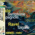 Haendel, Ančerl: Lalo - Symphonie Espagnole, Ravel - Tzigane (SACD)