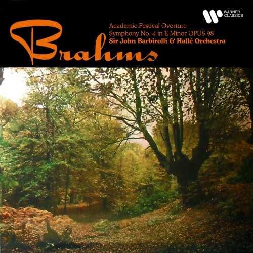 Barbirolli: Brahms - Academic Festival Overture, Symphony no.4 (24/192 FLAC)