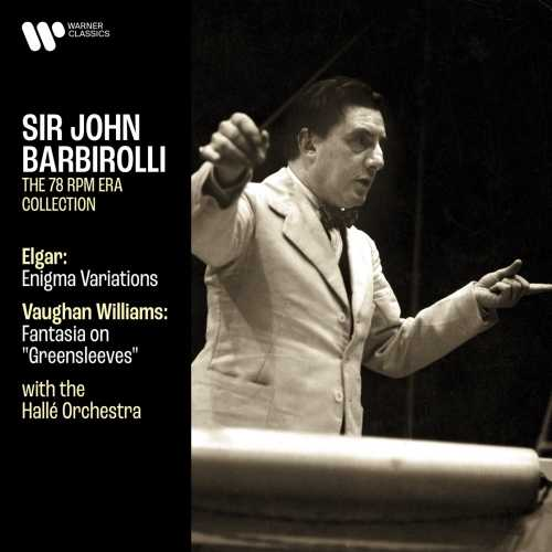 "Barbirolli: Elgar - Enigma Variations, Vaughan Williams - Fantasia on ""Greensleeves"" (24/192)"
