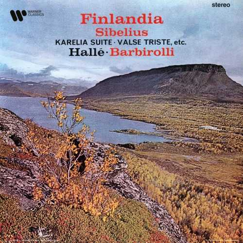 Barbirolli: Sibelius - Finlandia, Karelia Suite, Valse Triste etc (24/192 FLAC)