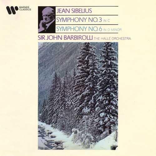 Barbirolli: Sibelius - Symphony no.3, Symphony no.6 (24/192 FLAC)