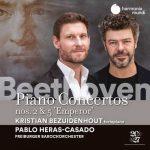 """Bezuidenhout, Heras-Casado: Beethoven - Piano Concertos no.2 & 5 """"Emperor"""" (24/96 FLAC)"""