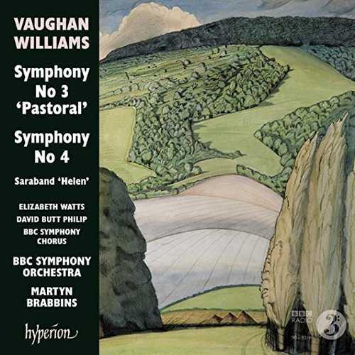 Brabbins: Vaughan Williams - Symphonies no.3 & 4 (24/96 FLAC)