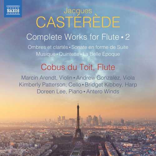 Cobus du Toit: Jacques Castérède - Complete Works for Flute vol.2 (24/96 FLAC)